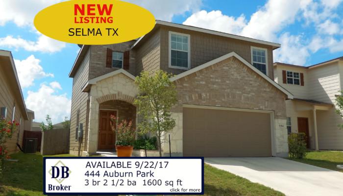444 Auburn Park Selma TX 78154