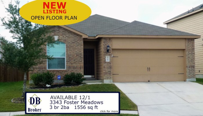 3343 Foster Meadows San Antonio TX 78222