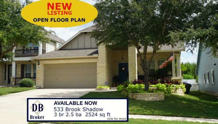 533 BROOK SHADOW CIBOLO TX 78108