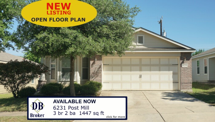 6231 POST MILL SAN ANTONIO TX 78244