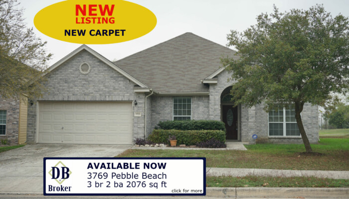 3769 Pebble Beach Cibolo TX 78108